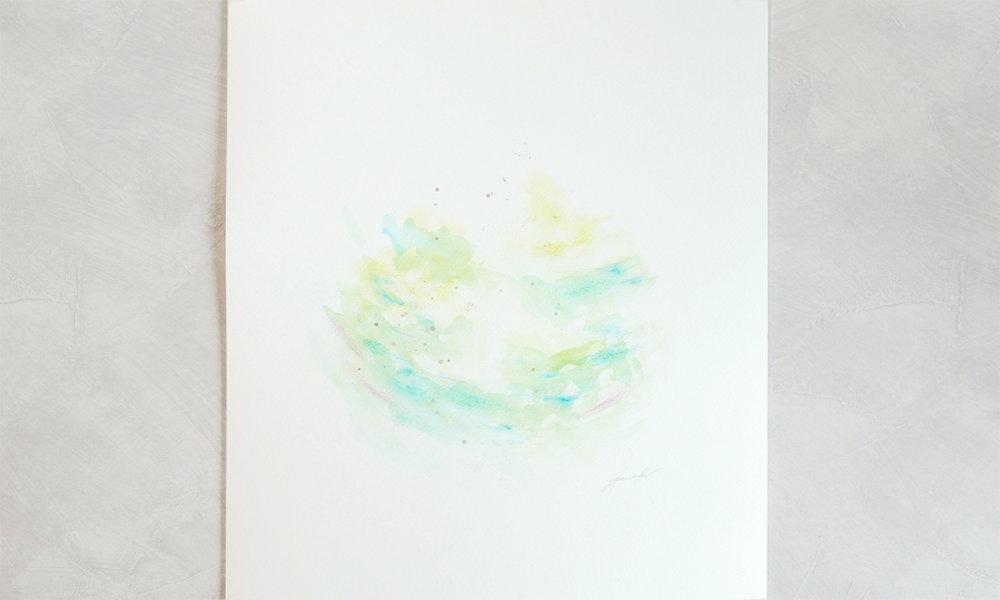 【今日のソウルアート】光を描く