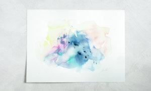 【今日のソウルアート】ふるさとの山